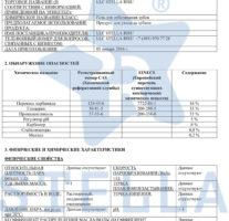 MSDS ПАСПОРТ БЕЗОПАСНОСТИ ВЕЩЕСТВА MATERIAL SAFETY DATA SHEET 16% CP -1 (8)